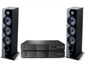 NAIM NAIT 5SI + CD5 Si + FOCAL CHORA 826